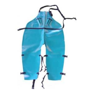 Delantal Largo PVC piernas separadas