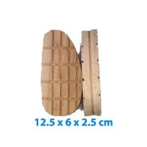 Tacos de madera - Tamaño especial 12.5 x 6 x 2.5