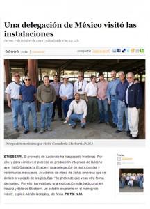 Una delegación de México visitó Navarra