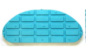 Taco Goma Azul XL 134mm