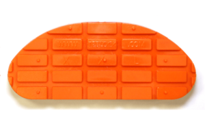 Taco Goma Naranja XL 134mm